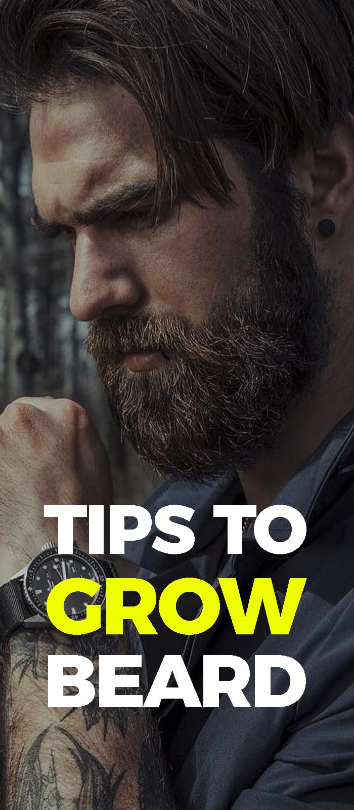 Tip To Grow A Beards