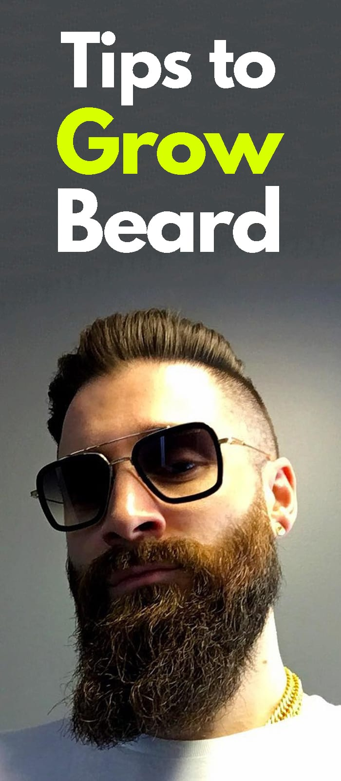 Tip To Grow A Beards!