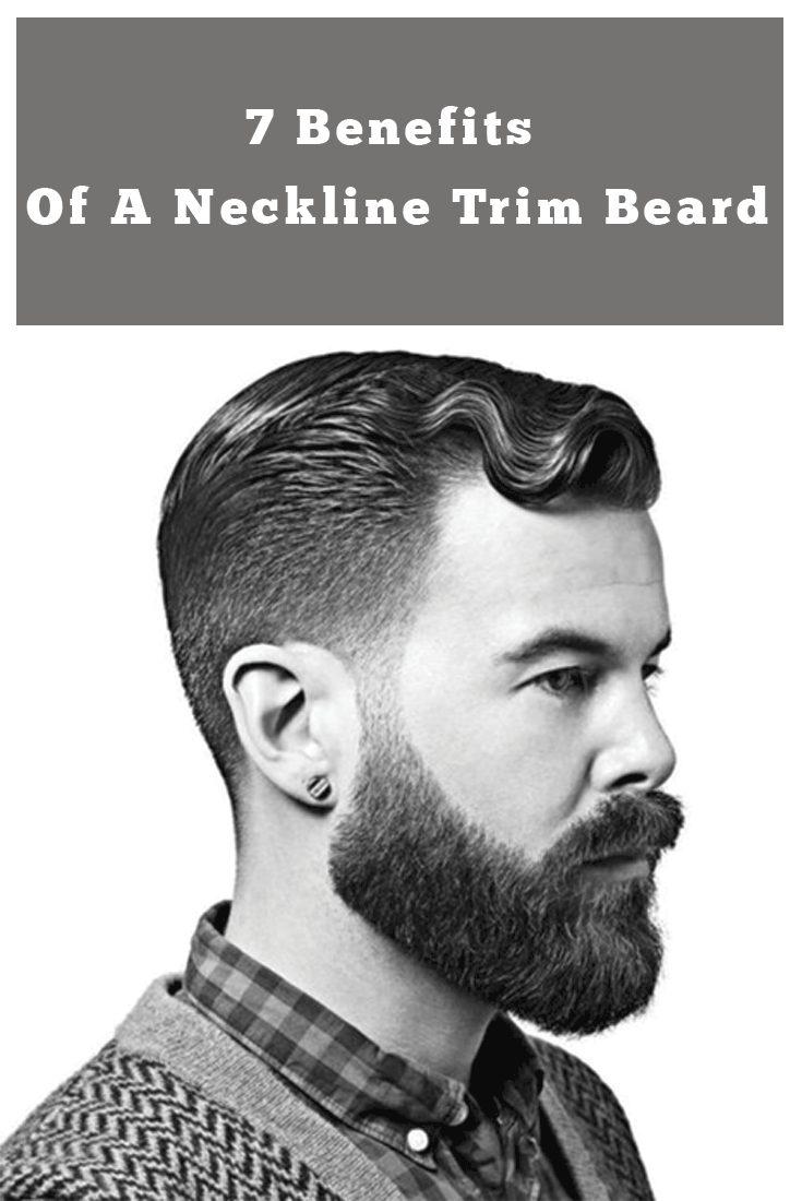 Neckline Trimming Beard