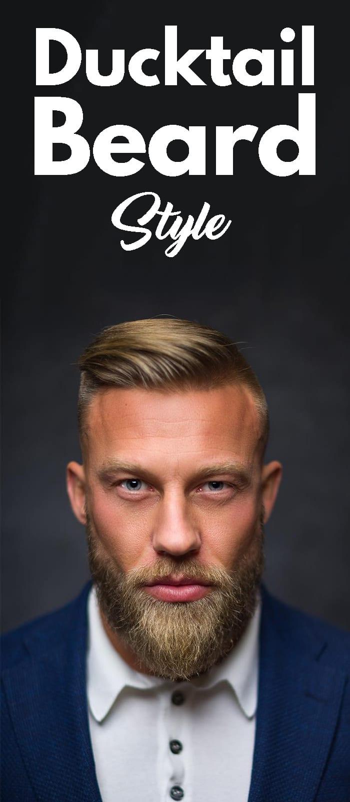 Ducktail Beard Style!