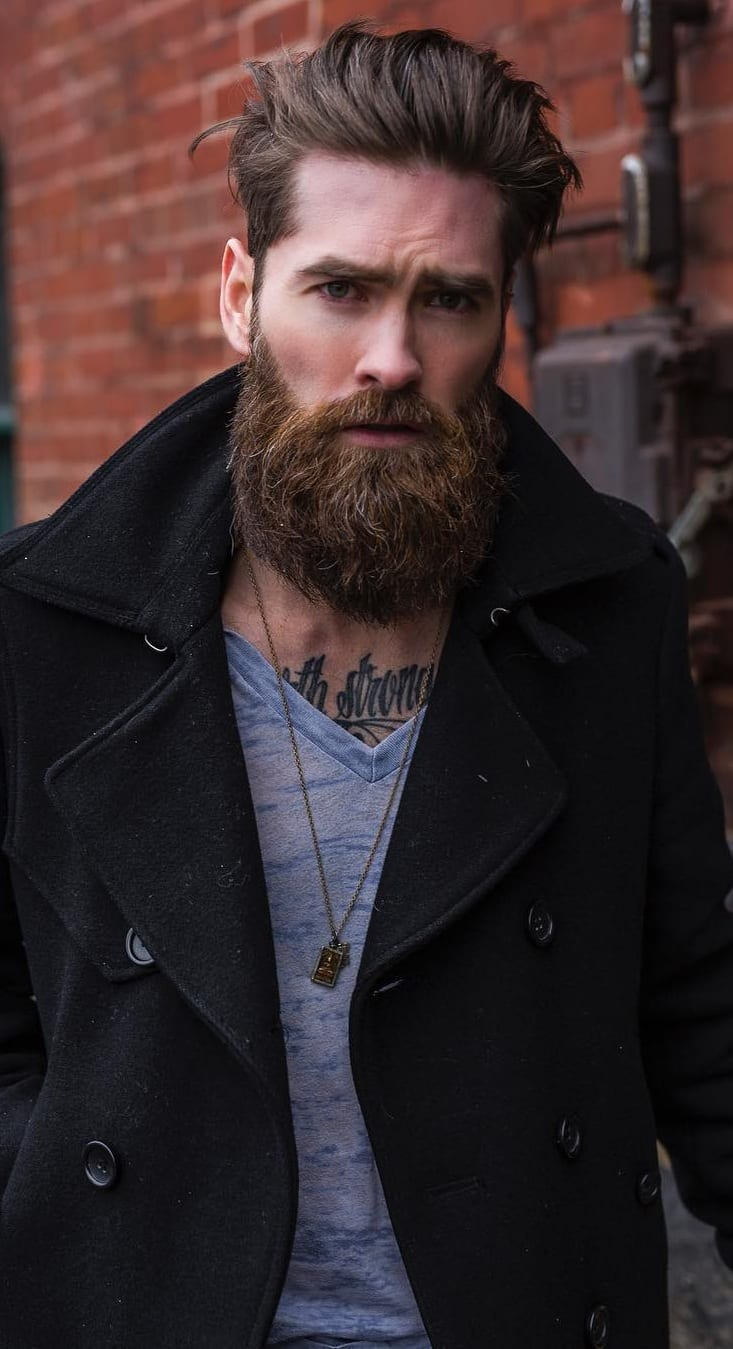 Garibaldi Beard Style For Men