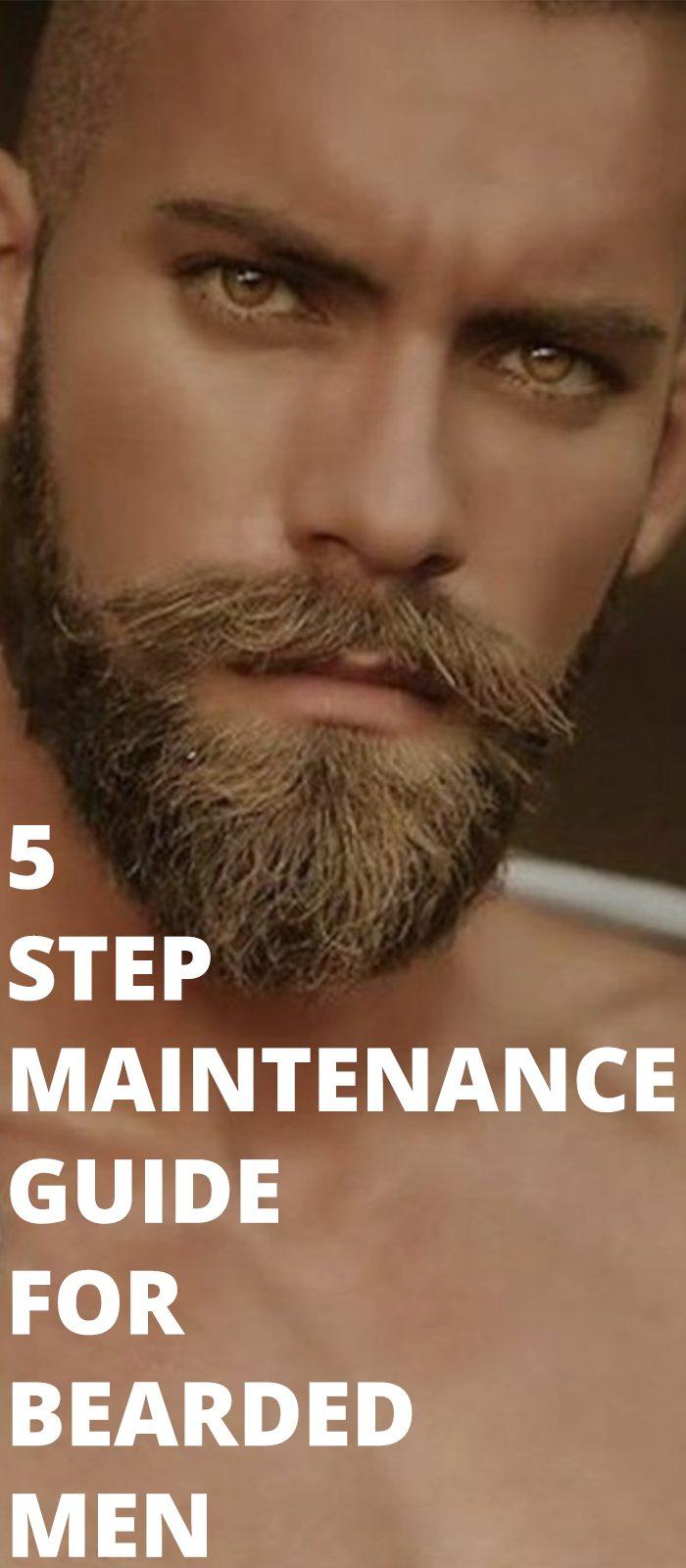 5 Step Maintenance Guide For Bearded Men