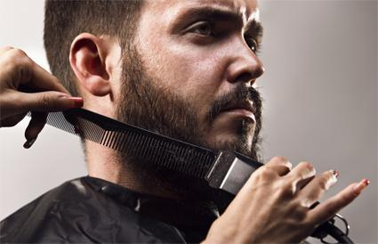 Beard trimming scissors perfect trimming manual man
