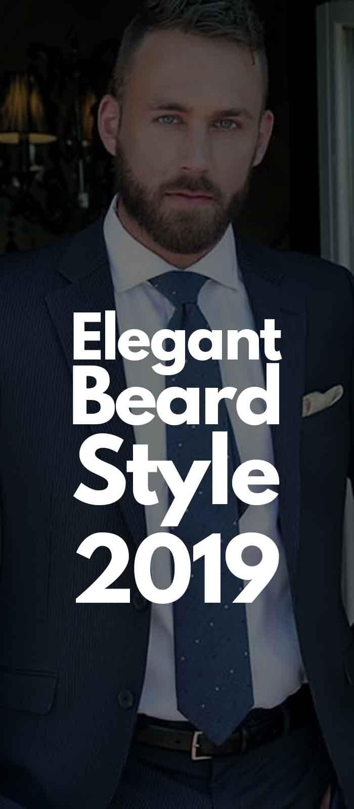 Blue Suit Professional Beard Look!