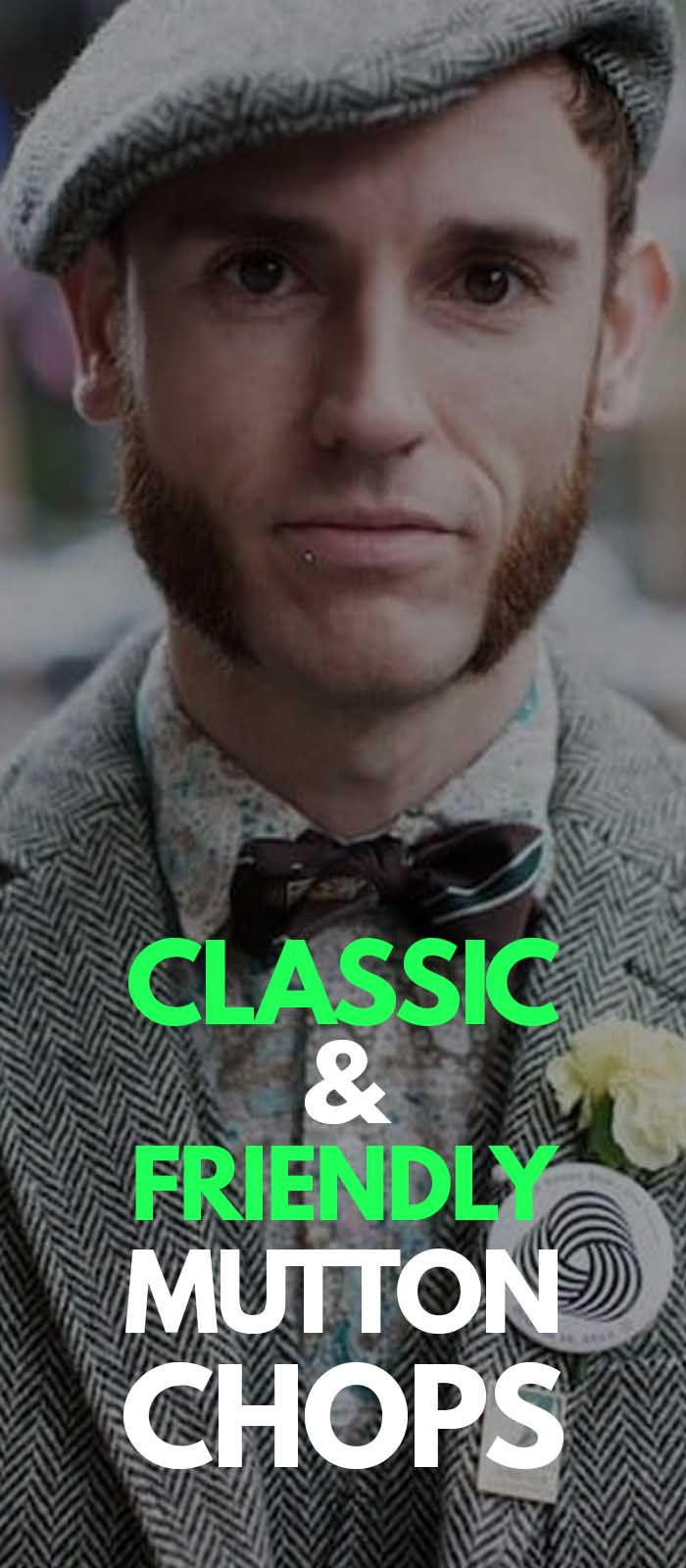 Classic Mutton Chops & Friendly Mutton Chops Differences!