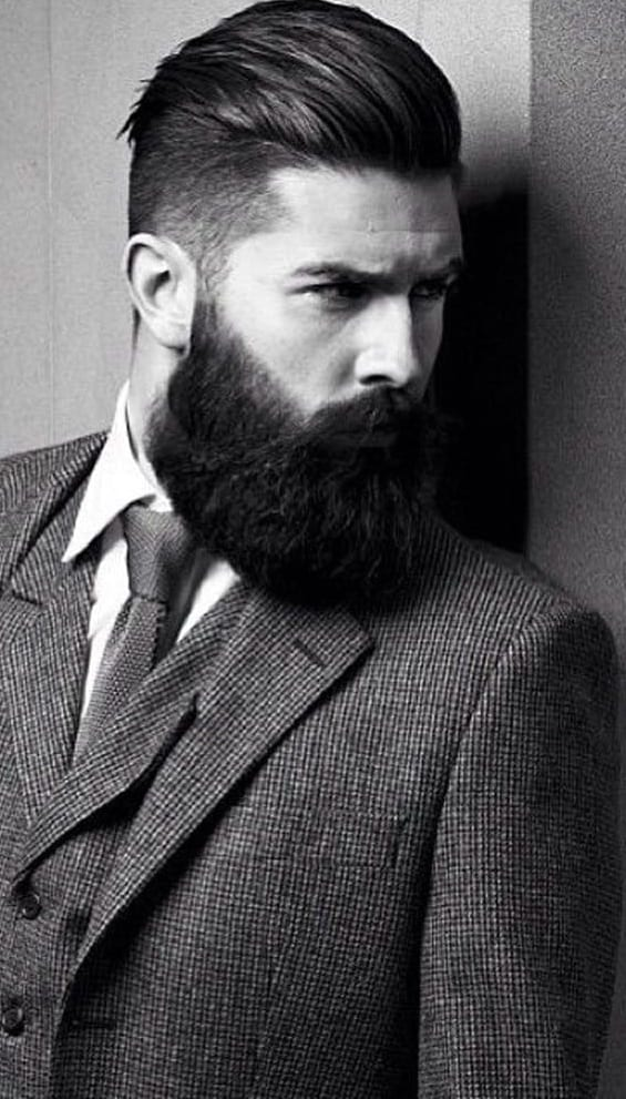 Full Beard-Bandholz beard with mustache ideas
