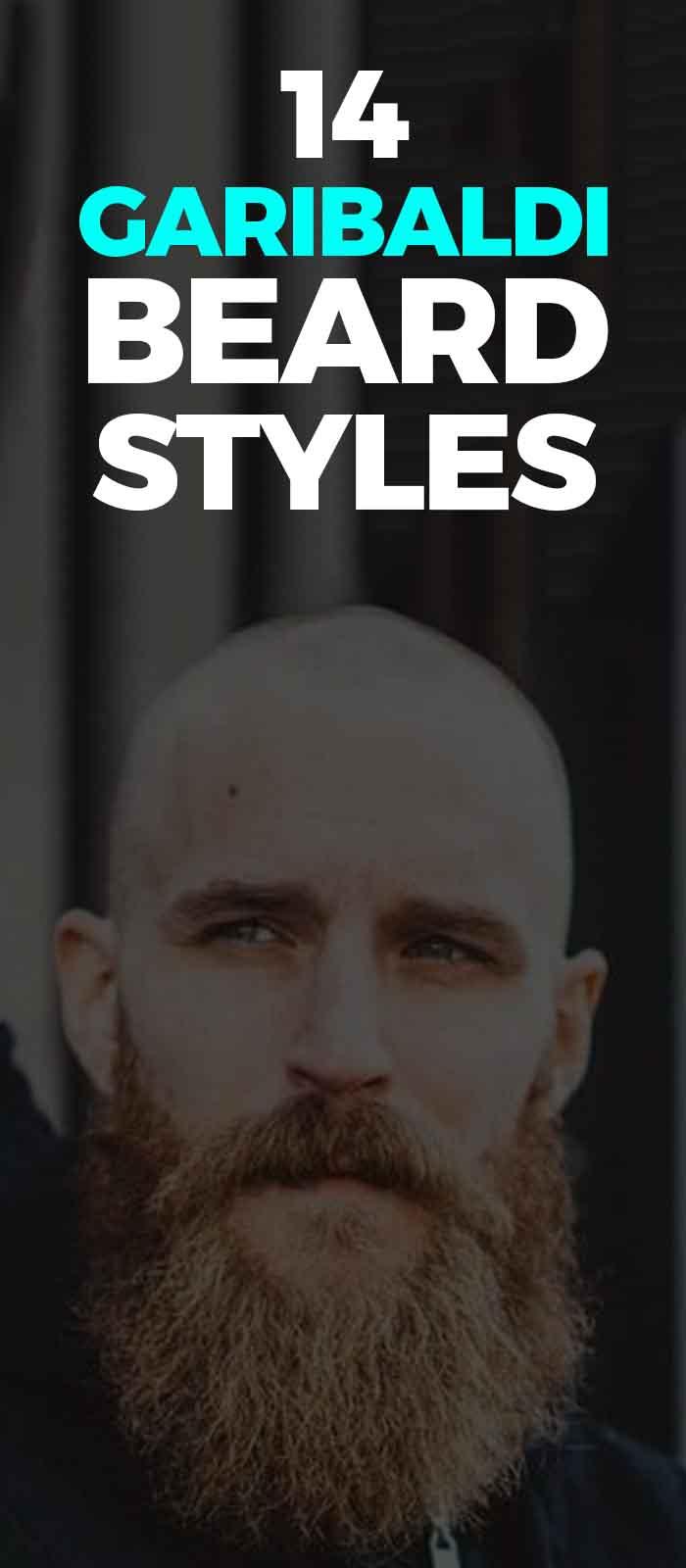Garibaldi Style of beard for men!