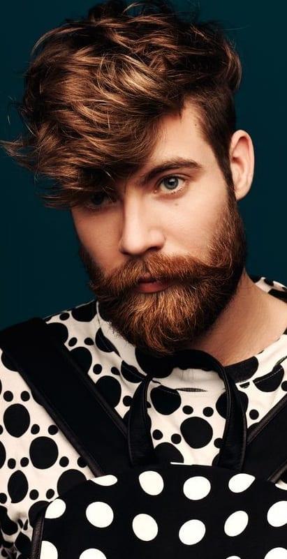 Imperial beard style