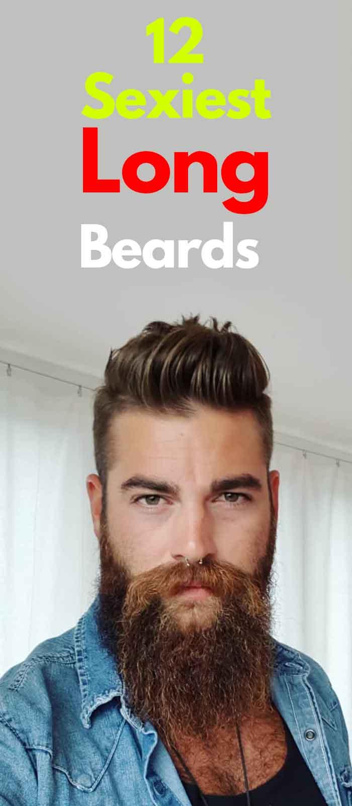 Long Beard Style for men Modern Gentlemen!