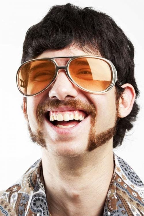 Mutton Chop Beard,Sunglasses style for men