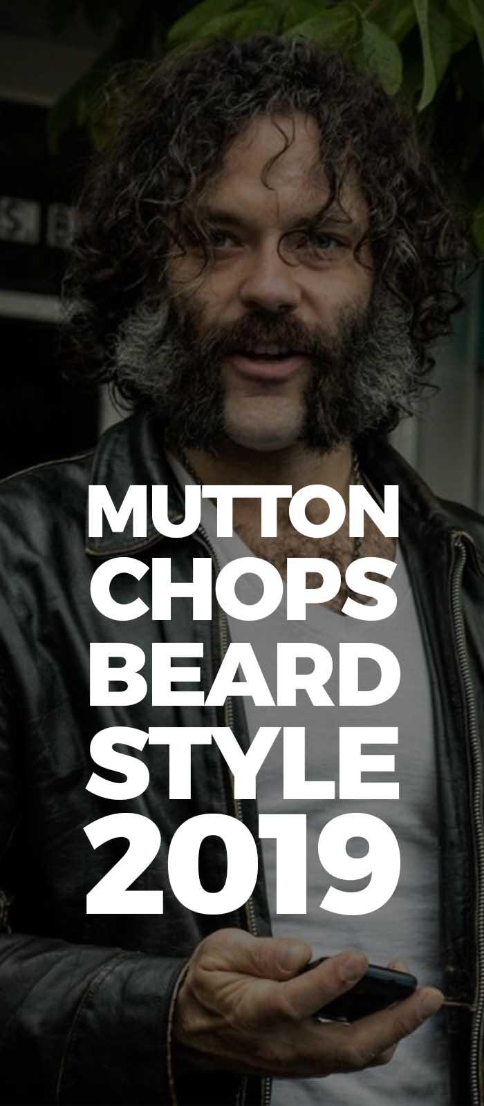 Mutton Chops beard style