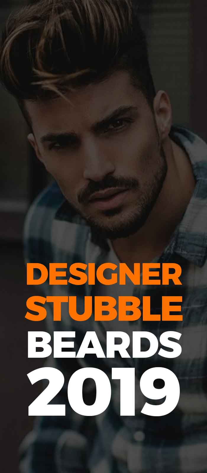 Perfect Designer stubble!