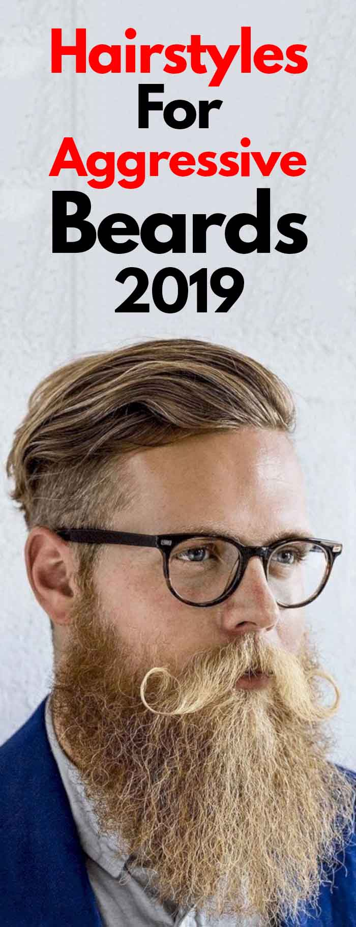 Perfect Hairstyle and Aggressive Beard Combination for men!