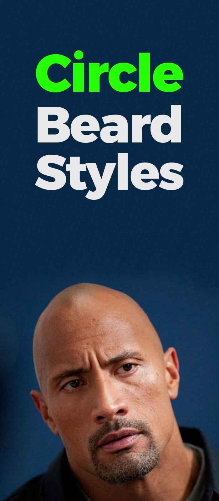 Short Circle Beard style for Bald men!