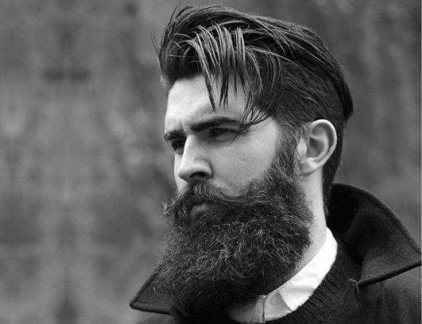 The 3 Beards That Create Magic With The Long Top Short Sides Hairstyle