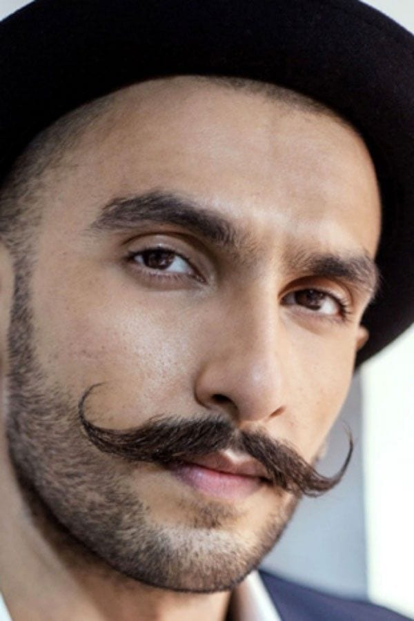 The Vintage Handlebar Moustache Style For Men