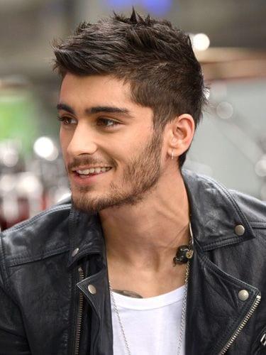Zayn Malik Short Stubble beard style