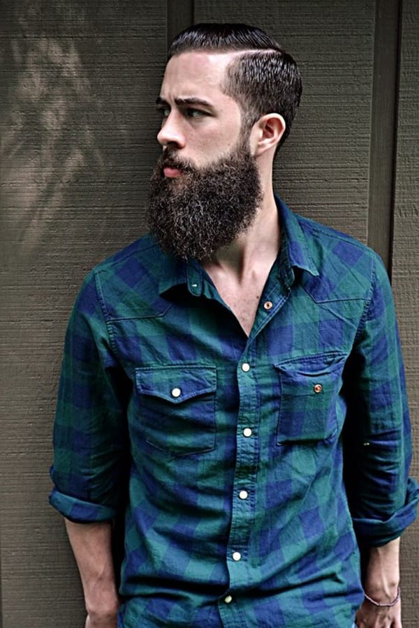 bandholz-beard-with-blue-cheks-shirt