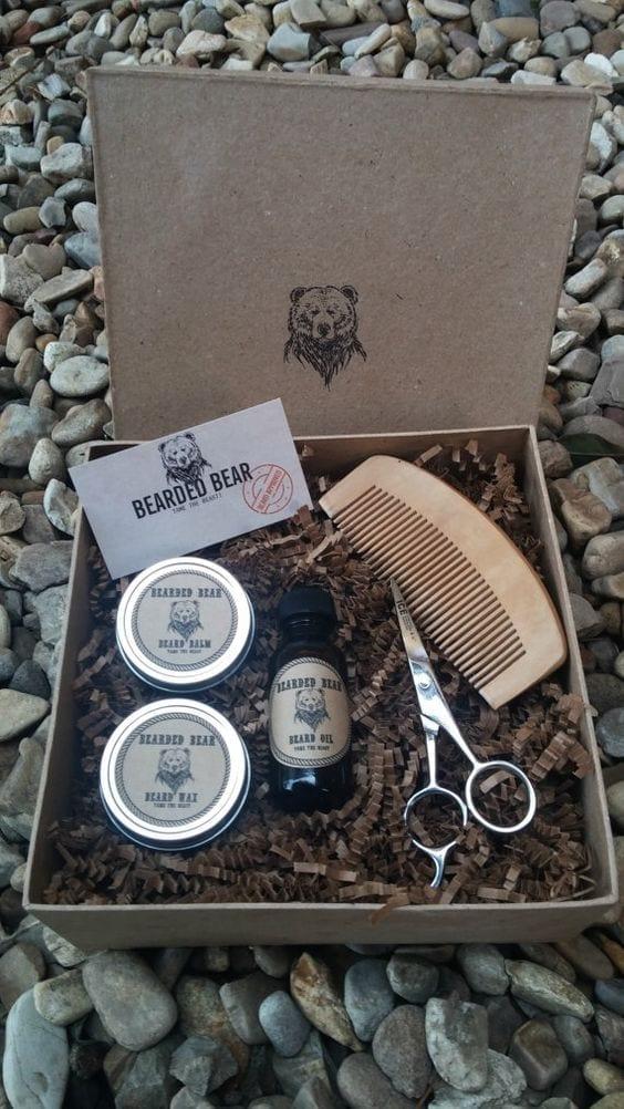 beard maintenace products