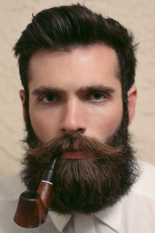 full beard with moustache