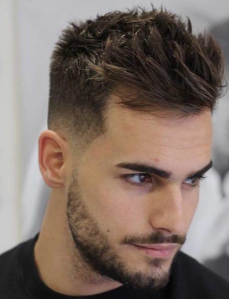 short-side-hair-for-medium-stubble-beard