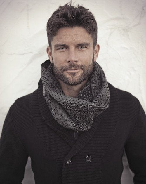 stubble-with-stylish-scarf