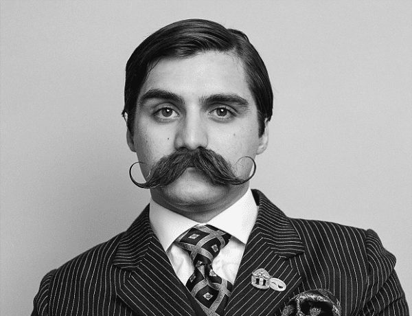the Vintage Tycoon Moustache