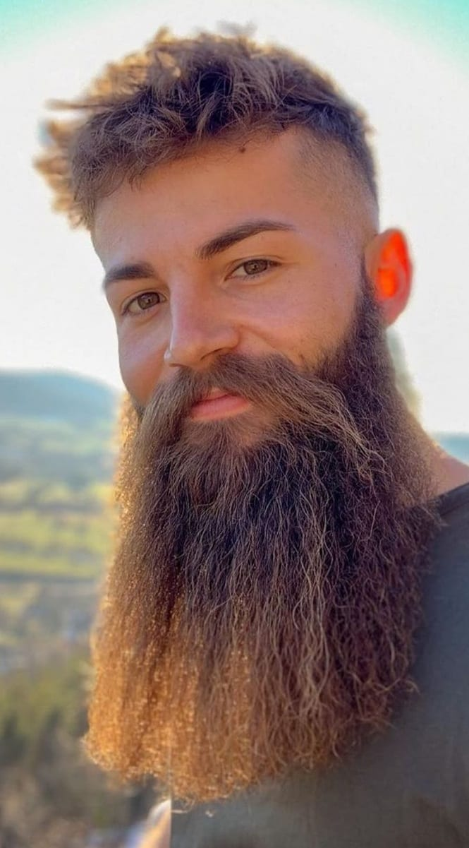 Bandholz Beard for men to try grow