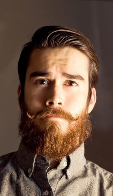 Old English Beard Look For men