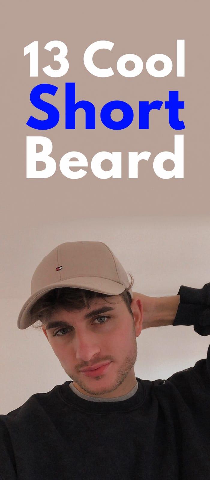 13 Cool Short Beard.