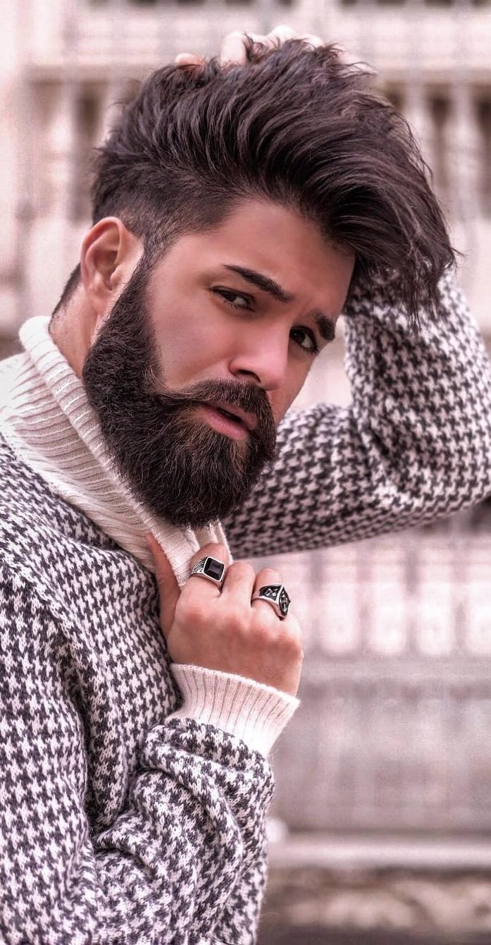 Full beard styles for boys in 2019
