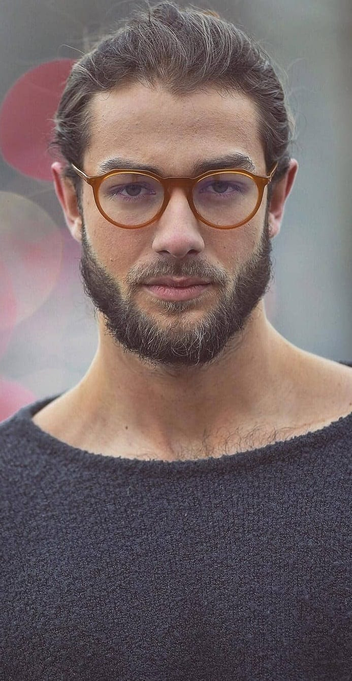 Short boxed beard style for boys