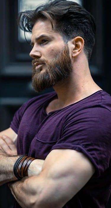 Men's Full Beard Style for 2020