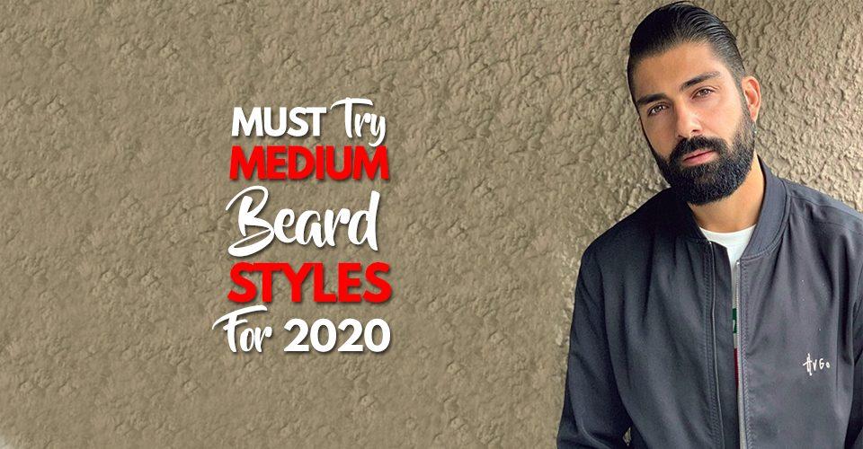 5 Cool Medium Beard Trends for 20205 Cool Medium Beard Trends for 2020