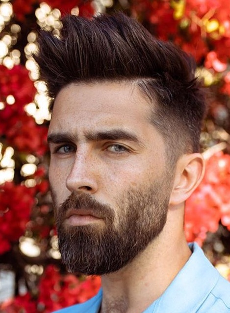 15 Hottest Short Beard And Hair combinations