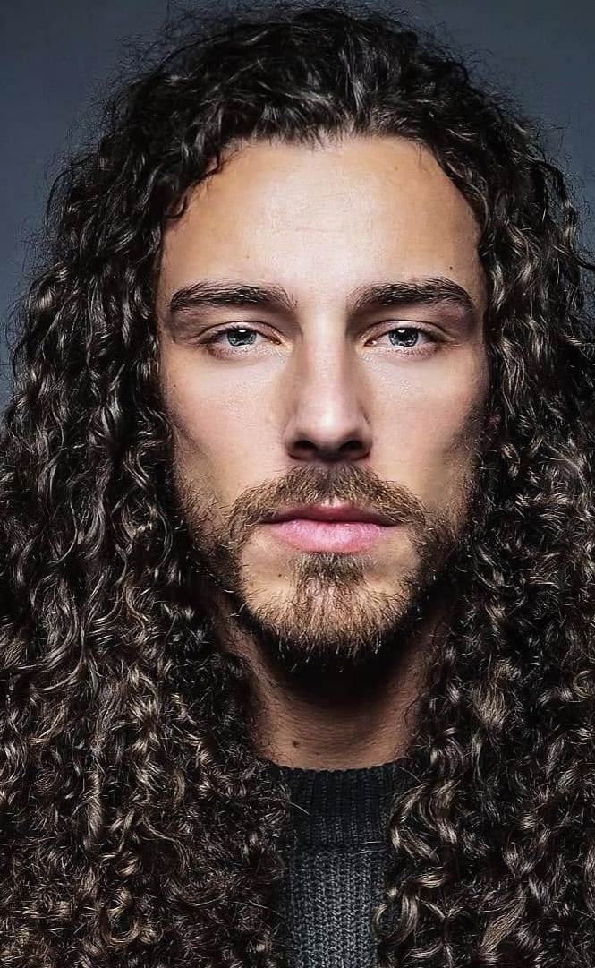 Hottest Beard and Long Hair Combination for Men