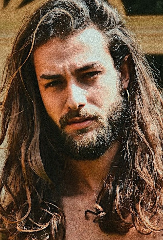 Sexiest Long Hair and Beard Style 2020