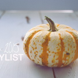 Autumn 2015 Playlist