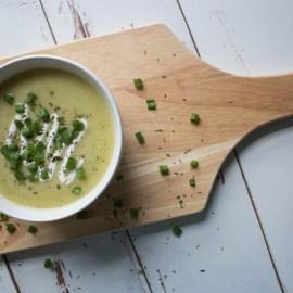 Hearty Potato + Leek Soup