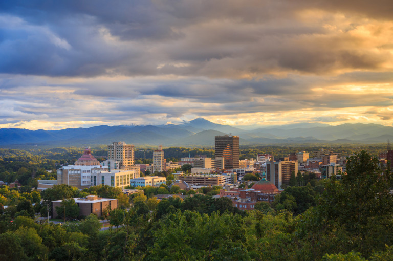 Asheville, North Carolina | Image source.