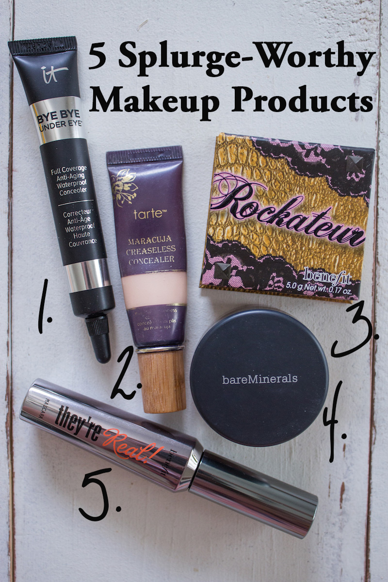 Splurge Worthy Makeup