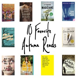 10 Favorite Autumn Reads