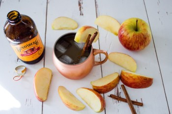 Apple Cider Moscow Mule via Beard + Bloom