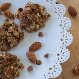 Maple + Almond No-Bake Cookies