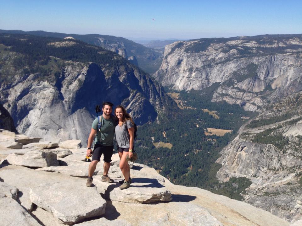Half Dome Hike, Yosemite, California