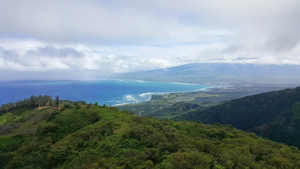 Waihe'e Ridge Trail Hike, Mauai, Hawaii