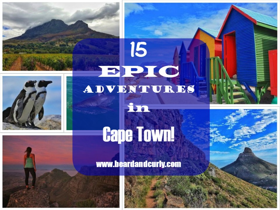 15 Epic Adventures in Cape Town and Vicinity!