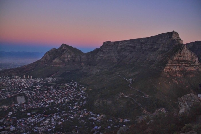 Kloof Corner, Cape Town, Hiking, South Africa, Lions Head