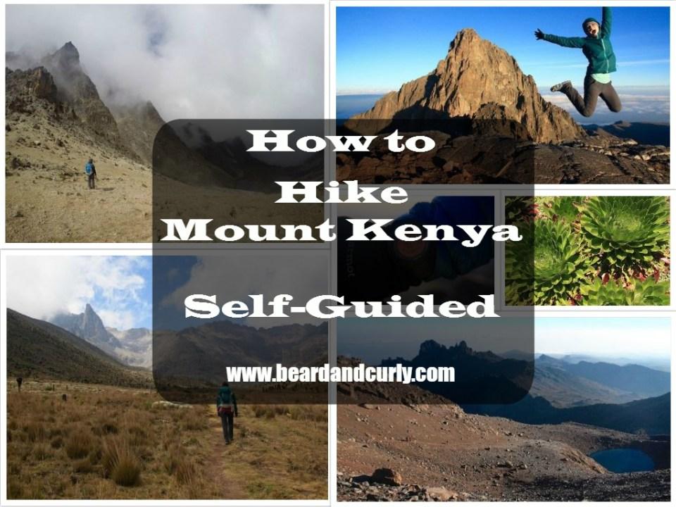 How to Hike Mount Kenya Self-Guided