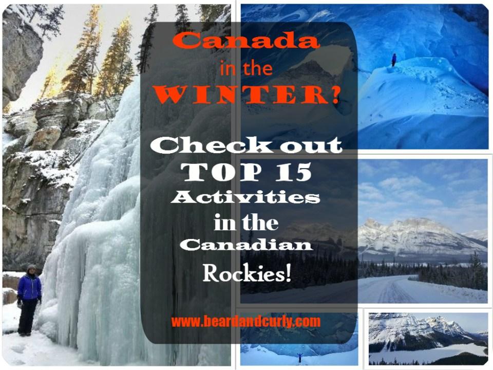 Top 15 Winter Activities in the Canadian Rockies!